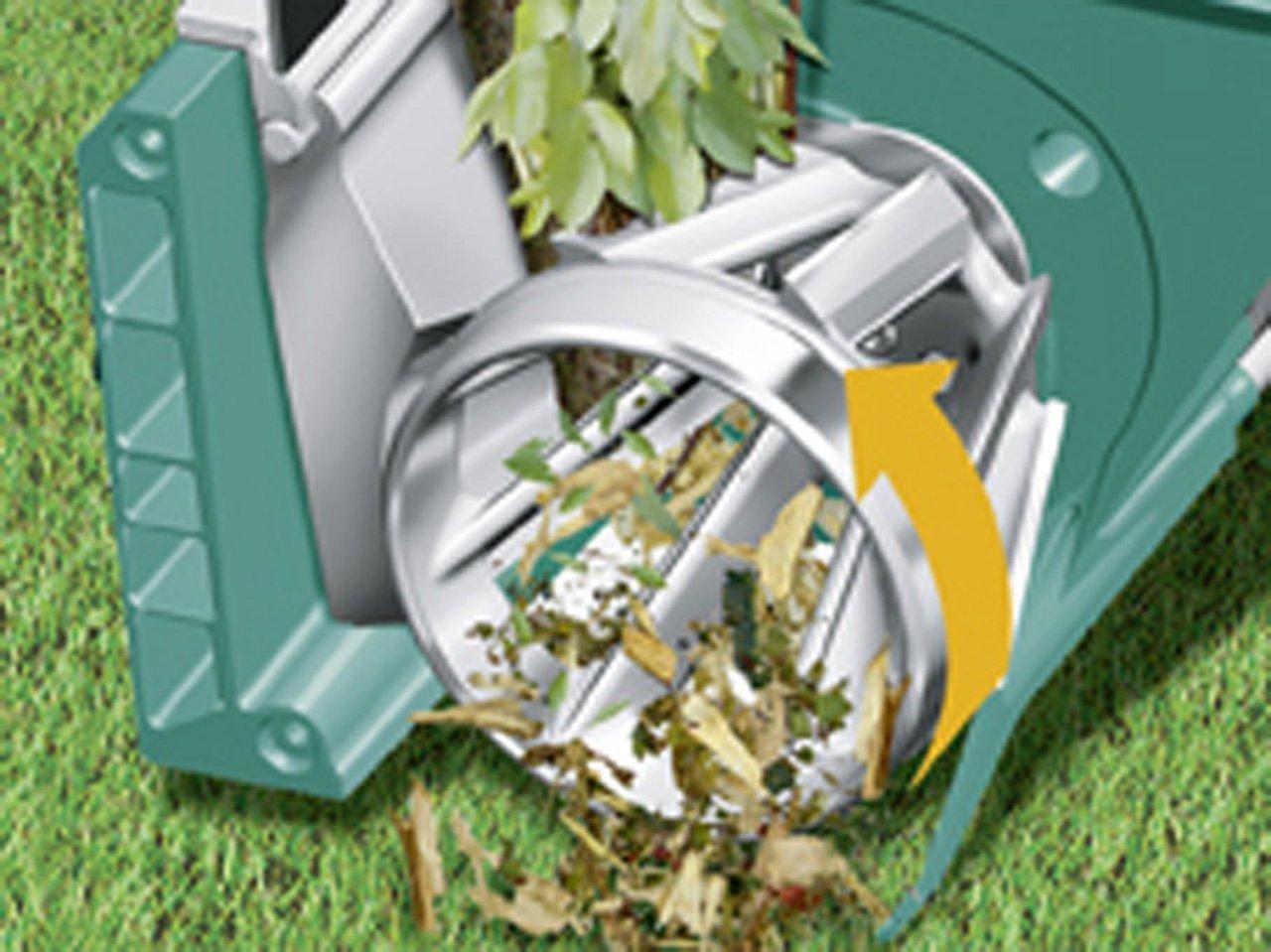 C'est un broyeur de végétaux qui fonctionne avec une turbine